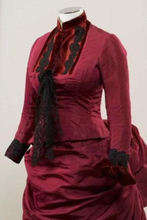 Trousseau Dress, 1881 from the Darnell Collection