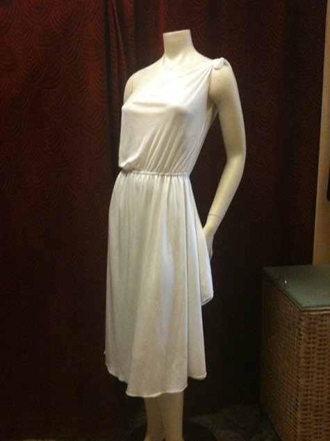 HOM 70s Grecian dress
