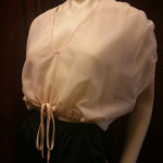 HOM 70s sheer top