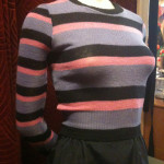HOM 70s striped jumper