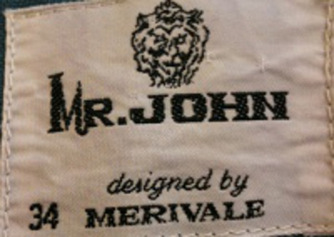 Label HOM Mr John 70s