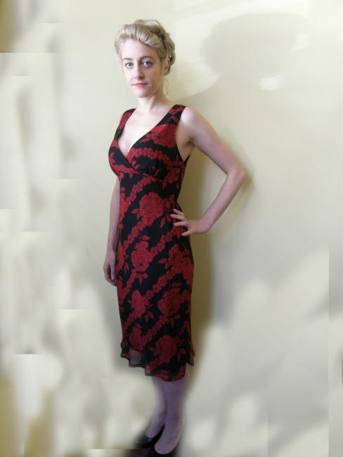 dr1306-33 House of Merivale dress 1990s