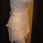 Fanlaced corset