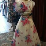 1950s floral dress size 10