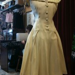 1950s portrait collar dress size 12