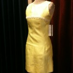 1960s daisy dress size 6