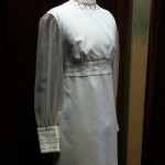 1960s wedding gown size 8