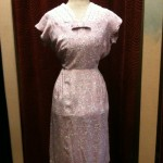 Early 1950s floral dress size 8