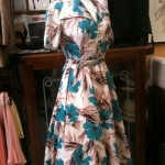 Late 40s floral dress size 10