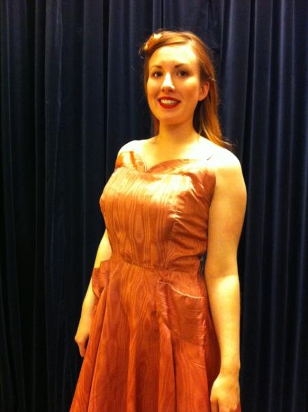 1940s Dancing Dress Super Curvy Size 10 12 Now 85