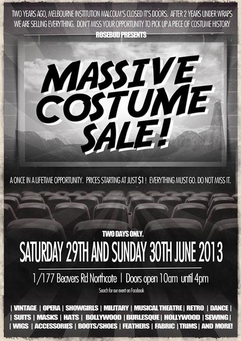 Malcolms costume sale 475