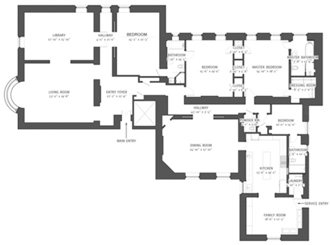 The dakota and bacall circa vintage clothing for Dakota floor plan