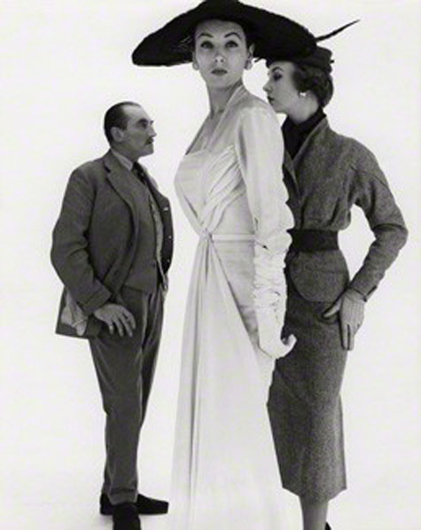 by Norman Parkinson, bromide print on card mount, 1953